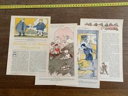 1914 JST GAVROCHE ET SES SOEURS VILLEGIATURENT VILDE LA MARINE BOY SCOUTS De Contrebande COLONIES KER LOUIS - Vieux Papiers