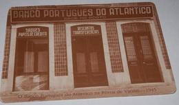 PETIT  CALENDRIER DE LE BANQUE PORTUGUES DO ATLANTICO- 1989 - Calendriers
