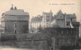 44 - NANTES - Le Château, Côté Nord - Nantes
