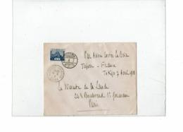 """CTN62/MT - RAID TOKIO-PARIS PAR COSTES ET LE BRIX SUR AVION BREGUET """"NUNGESSER ET COLI"""" DU 8 AU 14 AVRIL 1928 - Air Post"""