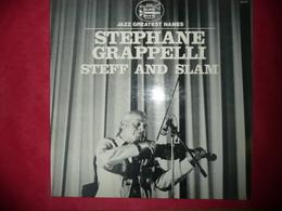 LP N°3128 - STEPHANE GRAPELLI  -STEFF AND SLAM - 33.076 - Jazz