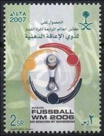 KSA SAUDI ARABIA 2006 2007 FIFA WORLD CUP FOOTBALL FUSSBAL GERMANY - Saudi Arabia