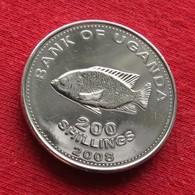 Uganda 200 Shillings 2008 KM# 68a *V1 Ouganda Oeganda - Ouganda