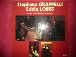 LP N°3130 - STEPHANE GRAPELLI  & EDDIE LOUISS FEATURING PIERRE MICHELOT - DANIEL HUMAIR FLD 673 - DISQUE EPAIS - Jazz
