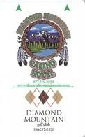 Diamond Mountain Casino - Susanville, CA - Hotel Room Key Card - Hotel Keycards