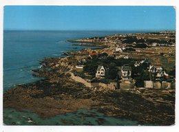 LE POULIGUEN -- 1969 -- Vue Aérienne --La  Pointe De Penchateau.......timbre....cachet..............à Saisir - Le Pouliguen