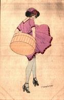 Illustrateur Maurice Pépin, Boite à Chapeau - Pepin