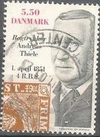 2001 5.50k Stamp Printer, Used - Danimarca