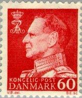 1967 60 Ore Frederik IX MNH - Danimarca