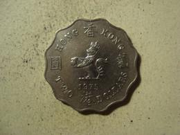MONNAIE HONG KONG 2 DOLLARS 1975 - Hong Kong