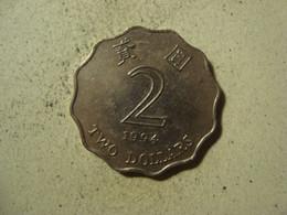 MONNAIE HONG KONG 2 DOLLARS 1994 - Hong Kong