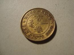 MONNAIE HONG KONG 10 CENTS 1950 - Hong Kong