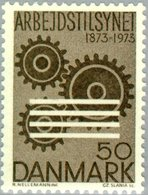 1973 Centenary Of First Danish Factory Act For Labor Protection MNH - Danimarca