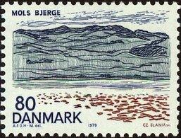1979 0.80 Landscape Moles Bjerge MNH - Danimarca