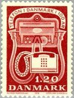 1979 1.20 Telephone MNH - Danimarca