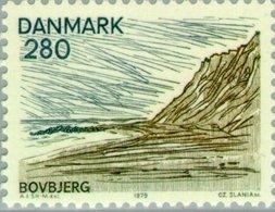 1979 2.80 Landscape Bovbjerg MNH - Danimarca