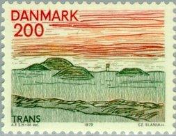 1979 2.00 Landscape Trans MNH - Danimarca