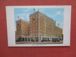 Hotel Martin   New York > Utica   Ref 3954 - Utica