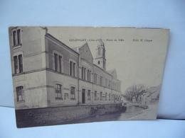 SELONGEY 21 COTE D'OR HOTEL DE VILLE CPA 1918 EDIT E CHOPIN - France