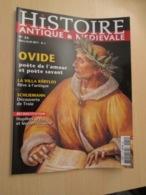AVICOV : Revue HISTOIRE ANTIQUE ET MEDIEVALE N°54 De 2011 Valait 6 Euros , Très Bon état - Histoire