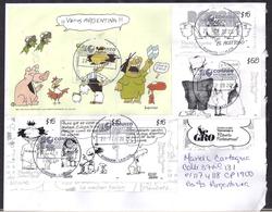 Argentina - 2020 - Lettre - Humour - Bandes Dessinées - Timbres Diverse - Comics - Argentina