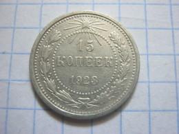 Russia , 15 Kopeks 1923 - Russland