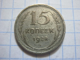Russia , 15 Kopeks 1928 - Russia