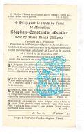 DP Provinciaal Architect (zie Info) - Stephan Const. Mortier ° Gent 1857 † 1934 X Maria Willems - Devotieprenten