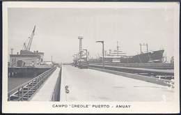 """RC279 CAMPO """" CREOLE """" PUERTO AMUAY - Venezuela"""