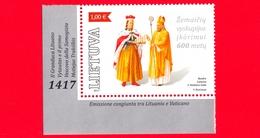Nuovo - MNH - LITUANIA - Lietuva -2017 - 600 Anni Della Diocesi Samogizia - Granduca Vytautase - Vescovo Motiejus - 1.00 - Litauen