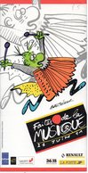 BRETECHER Annonce Culturelle : Faîtes De La Musique 21 Juin 1991 - Brétecher