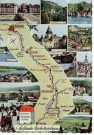 25 Les Grandes Routes Touristiques N°1325 De Besançon à Mouthe Par Pontarlier Borne Michelin RN67 - Pontarlier