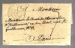 30168 - Pour Le Comte De CHOISEUL - 1801-1848: Précurseurs XIX