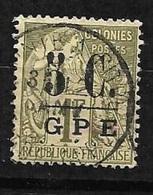 France  Guadeloupe   N° 11 Oblitéré B/ TB       Soldé à Moins De  10  % ! - Used Stamps