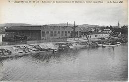 ARGENTEUIL -  CHANTIER DE CONSTRUCTION DE BATEAUX -  USINE CLAPAREDE - Argenteuil