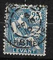 France  Levant    N° 17   Oblitéré B/ TB       Soldé à Moins De  10  % ! - Oblitérés