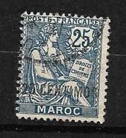 France  Maroc   N° 14      Oblitéré B/ TB       Soldé à Moins De  10  % ! - Used Stamps