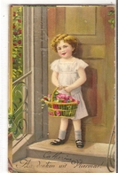 K 1393 OLD FANTASY  POSTCARD   , CHILDREN ,FINE ART , GREETINGS - Sin Clasificación