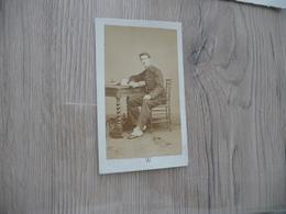 Photo CDV Guerre Militaire Petit Format Walery Marseille Soldat Officier? - Krieg, Militär
