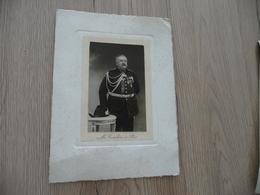 Photo 5.8 X 9.3 Sur Carton 12.5 X 17 Guerre Militaire Mr Coulon à Pau Officier Décoration - Krieg, Militär
