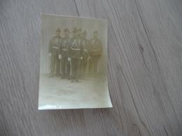 Photo 8 X 11 Originale Groupe D'Officiers Sabre Décorations - Krieg, Militär