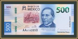 Mexico 500 Pesos 2017 P-132 (132a.1) UNC - Mexico
