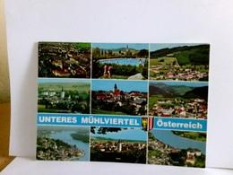 Mehrbild AK Unteres Mühlviertel. Die Hügelige Wanderwelt. Österreich. Ortsansichten Verschiedener Ortschaften, - Non Classés