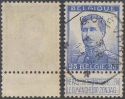"""Pellens - N°120 Obl Télégraphique """"Quiévrain"""" - 1912 Pellens"""