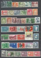 40 TIMBRES SUISSE - Collections