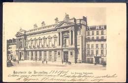 RC320 SOUVENIR DE  BRUXELLES - LA BANQUE NATIONALE ( RETRO INDIVISO ) - Monumenti, Edifici
