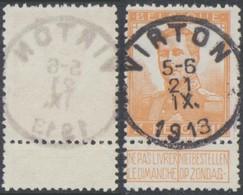 """Pellens - N°116 Obl Simple Cercle """"Virton"""" - 1912 Pellens"""