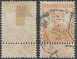 """Pellens - N°116 Obl Télégraphique """"Esschen"""" - 1912 Pellens"""