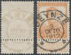 "Pellens - N°116 Obl Télégraphique ""Deynze"" - 1912 Pellens"