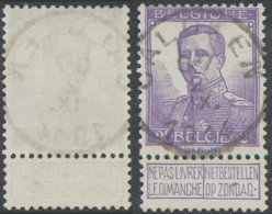 "Pellens - N°117 Obl Simple Cercle ""Calcken"". TB - 1912 Pellens"